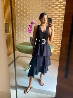 Vestido Preto Bardoh
