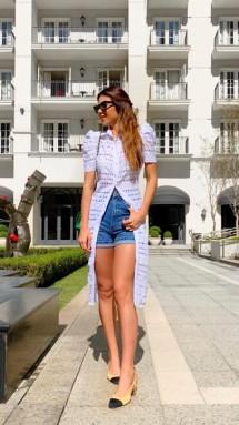 Vestido Blusa Mariah Cloude