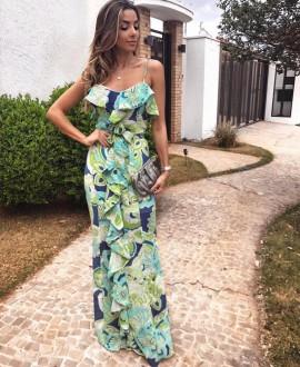 Vestido Gaby Aquarella
