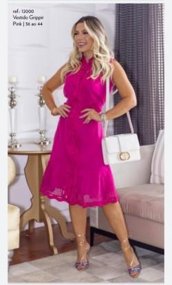 Vestido Recortes Luzia Fazzoli