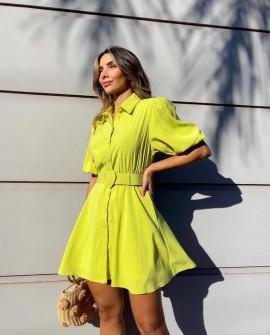 Vestido Chemise Lima Olívia