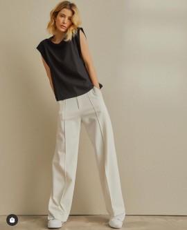 Calça Pantalona Natural Zen