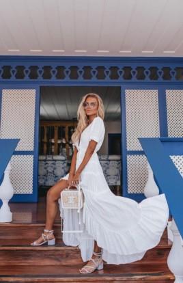 Vestido Midi Riviera Off Blessed