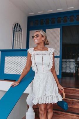 Vestido Renda Bonete Blessed Store
