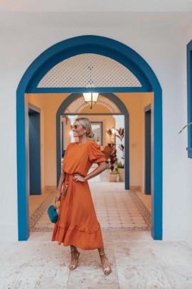 Vestido Midi Hália Blessed Store