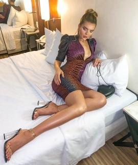 Vestido Luréx Olívia