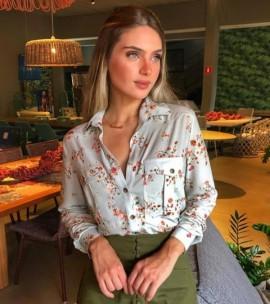 Camisa Flora Cloude