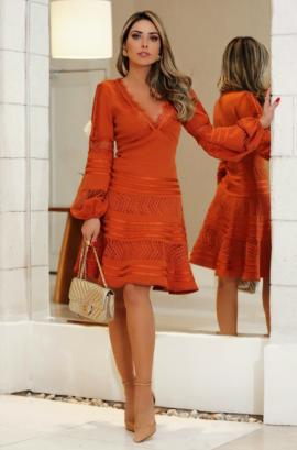 Vestido Renda Luzia Fazzolli