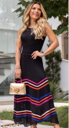 Vestido Tricô Luzia Fazzolli