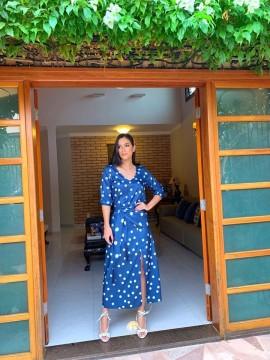 Vestido Caroline Aquarella