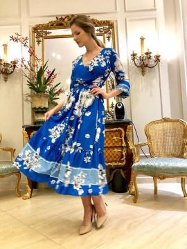 Vestido Floral Luzia Fazzolli