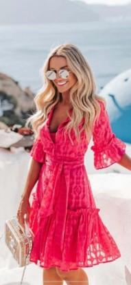 Vestido Pink Antusa
