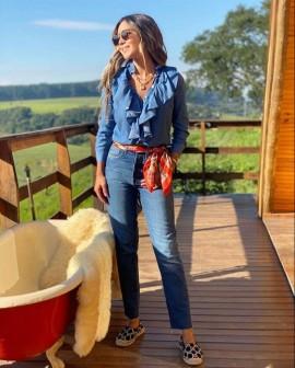 Calça Jeans Skinny Lulu