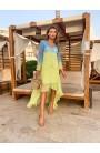 Vestido Tie Dye Verde Aquarella